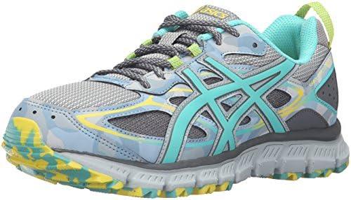 ASICS Women's Gel Scram 3 Trail Runner, Mid GreyTurquoise