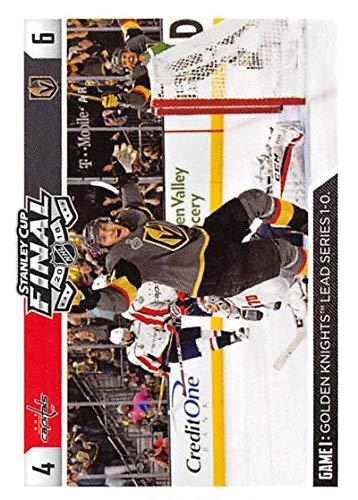 2018-19 Panini NHL Stickers Collection #560 Tomas Nosek Washington Capitals/Vegas Golden Knights Official Hockey Sticker (smaller than a regular card)