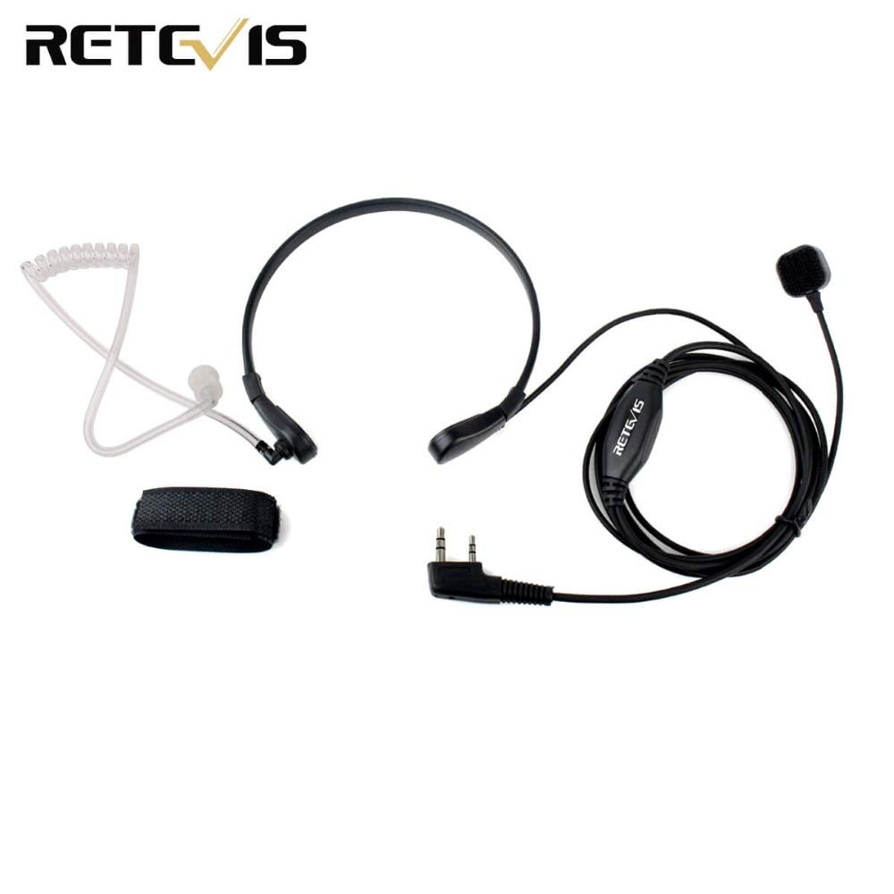 Hatchmatic Throat Mic Ptt Earpiece For Kenwood Baofeng Tyt Microphone Wiring Diagram Uv 5r Bf 888s Retevis H777 Rt3 Rt Quansheng Ham Radio C9007a