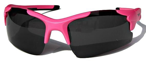 VertX polarisé Neon lunettes de soleil Sport enveloppantes en vélo en cours d'exécution en plein air – Néon armature corail – lentille Orange 2TRp9OxU