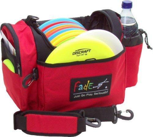 Fade Crunch Disc Golf bag, Blood Red