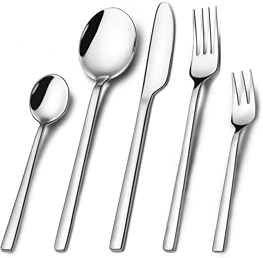 Portable Stainless Steel Cutlery Tableware Dinnerware Set
