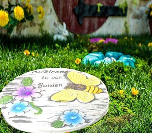 Garden Stepping Stones Saying