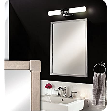 GlassCrafters GC2030 4 SC PA OR 20 X 30 Park Ave Framed Mirrored Medicine Cabinet 4 Inch Deep With Frame Finish Oil Rubbed Bronze Mirror Edge Flat Mirror