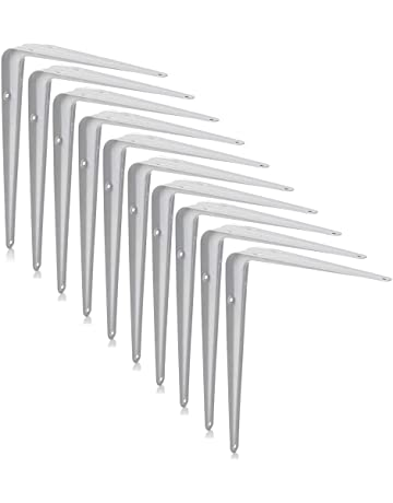 PACK OF 6 S SHAPED HOOKS Large 160mm Chrome Plated Steel Hanging Door/Shelves Hooks, Brackets & Curtain Rods