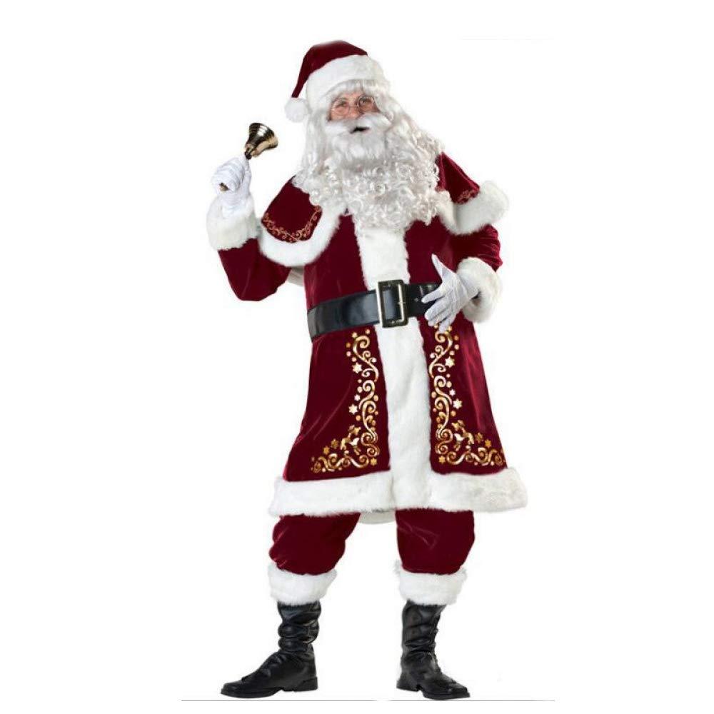 Olydmsky Trajes De Navidad Navidad De Adulto Disfraz Santa Claus