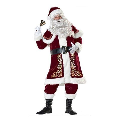 Yunfeng Disfraces de Papá Noel para Mujer Disfraz Santa ...
