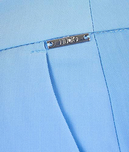 Claro Poliéster Liu Jeans Azul Pantalón Mujer W19497t7982x0167 ggIq7z