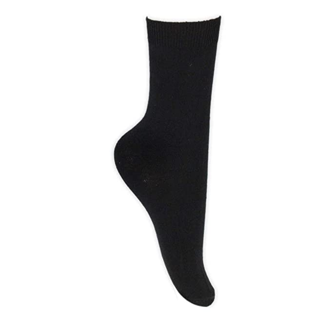 a3dd305d297ec 6 Pairs of Boys and Girls Cotton School Ankle Socks in 6 Colours and UK  Sizes: Amazon.co.uk: Clothing