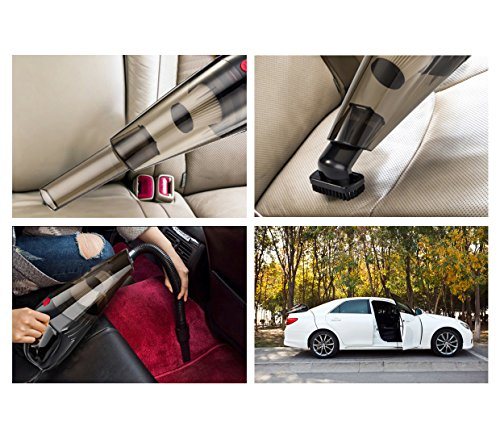 Car Vacuum Cleaner Cheyoll DC 12V 108W Car Vacuum Function Only Wet Dry Portable Handheld Vacuum Cleaner For Car With 164FT Power Cord And Carry Bag