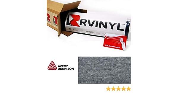3M 1080 BR212 Brushed Black Metallic 5ft x 1ft W//Application Card Vinyl Vehicle Car Wrap Film Sheet Roll