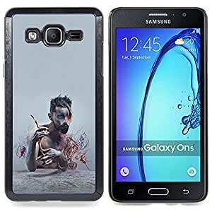 For Samsung Galaxy On5 O5 Case , Patrón Puma Rosa Piel animal - Diseño Patrón Teléfono Caso Cubierta Case Bumper Duro Protección Case Cover Funda