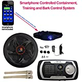 High Tech Pet Bluefang Smart Phone Electric Dog Fence, Training and Bark Stop System, X-22, Navy Blue