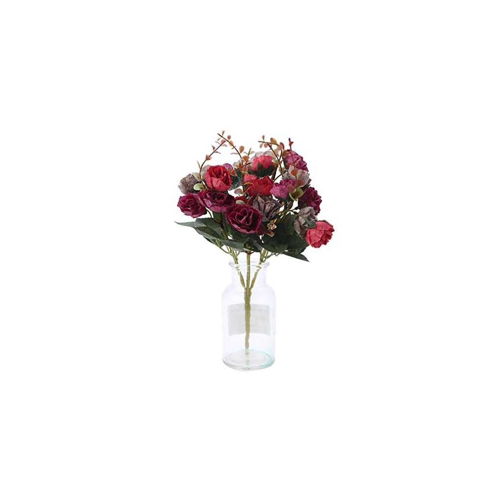 1-Bouquet-21-Head-Artificial-Rose-Colorful-Silk-Flower-Capable-Fake-Flowers-For-Party-Wedding-Decor