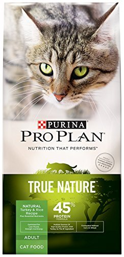 Purina Pro Plan Dry Cat Food, True Nature, 45% Protein Formu