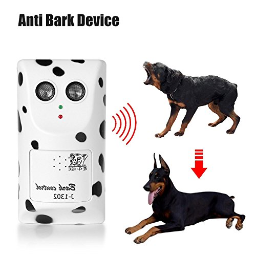 Bybest Humanized Ultrasonic Anti-Barking Device Stopping Barking Machine Controlling Dog Barking Muffler Design Having Barkproof Ultrasound Training Dog Stopping Barking