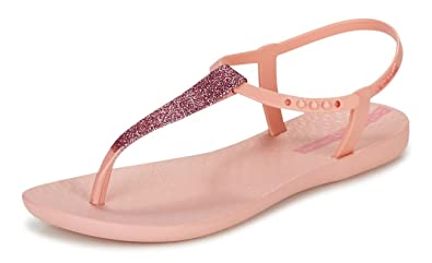 2606c0c636096e Ipanema Womens Flip Flops Pop Glitter Beach Sandals-Pink-8