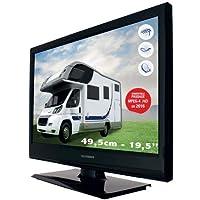 sedea Téléviseur Camping TV LED TELEFUNKEN 20 Pouces Compatible FRANSAT- TNT & Satellite