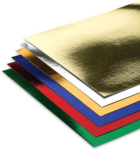 Hygloss Products Mirror Board Sheets - Reflective, Shiny Pos