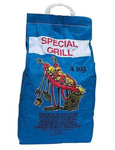 CarboBois - CARBONELLA per Barbecue SPECIAL GRILL di Legna Purissima - Sacco da 2 Kg