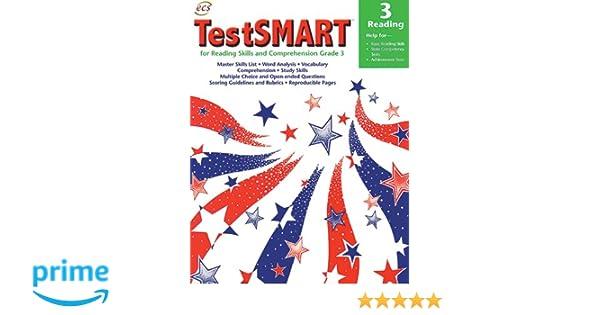 Amazon.com: TestSMART for Reading Skills and Comprehension - Grade 3 ...