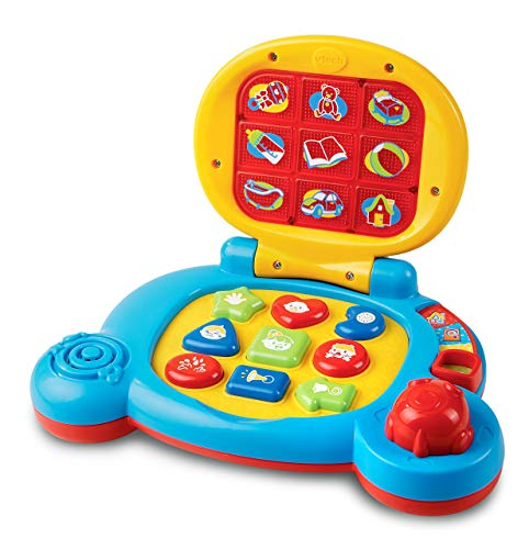 VTech Baby's Learning Laptop Toy (Frustration Free Packaging) (Renewed) -  VTech--Import, 80-073861-cr