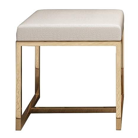 LIYIN-Makeup stool Taburete De Tocador con Estructura De ...