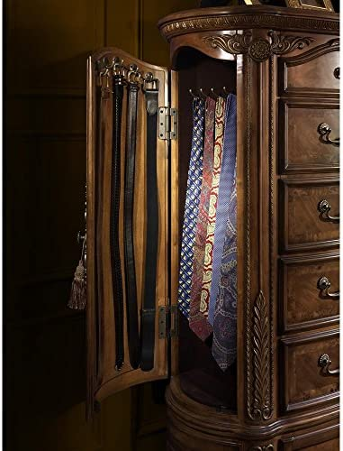 Amazon.com: Aico Amini Cortina Queen Sleigh 5 Piece Bedroom ...
