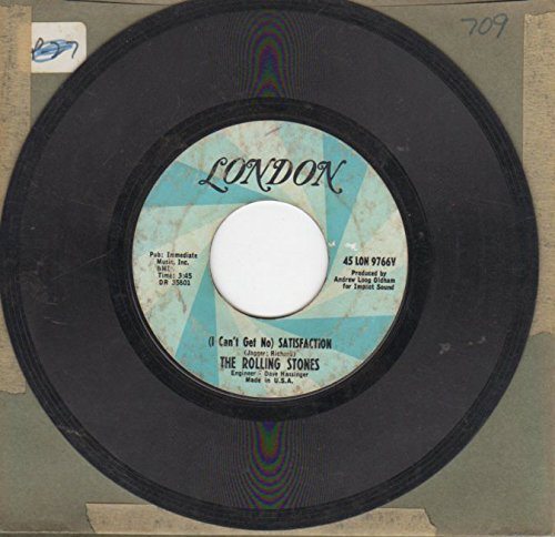 (I CAN'T GET NO) SATISFACTION / THE UNDER ASSISTANT WEST COAST PROMOTION MAN (7