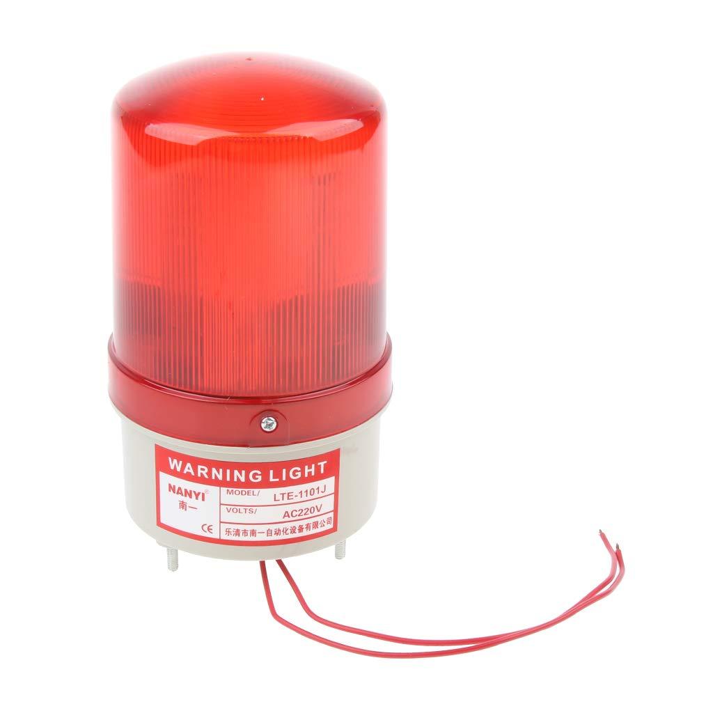 FLAMEER Spia Lampeggiante Luce Illuminazione Utilizzo in Emergenza Fog Rainy Snowy Wind Season - AC 220V