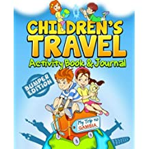 Children's Travel Activity Book & Journal: My Trip to Gambia