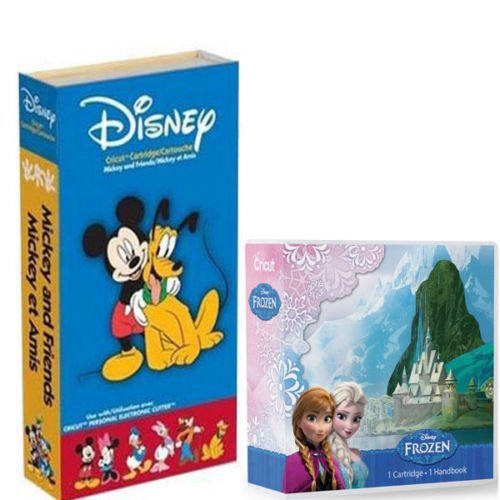 Cricut Cartridge Bundle Disney Frozen & Mickey and Friends
