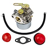 5 hp tecumseh carburetor - HIFROM Carburetor Carb with Mounting Gasket Fuel Line Primer Blub for Tecumseh 632107 632107A 640084 640084A 640084B TORO 521 Snow Blower HSSK40 HSSK50 HS50 LH195SA Small Engine Mower Generator