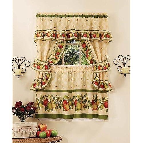 Fruit Kitchen Curtains Custom Design Inspiration