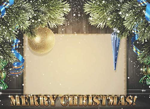 Merry Christmas: Christmas Guest Book To Write In. May your Christmas sparkle with moments of love, laughter and joy