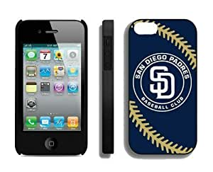 Cheap Apple iphone 5 5s Case MLB San Diego Padres Personalized iphone 5 5s Cellphone Proective Cover