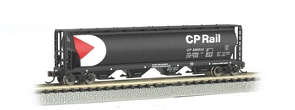 Bachmann Industries Inc. Canadian 4-Bay Cylindrical Grain Hopper CP Rail - N Scale