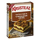 Krusteaz Cinnamon Swirl Crumb Cake and Muffin Mix, 21-Ounce Boxes (Pack of 12)