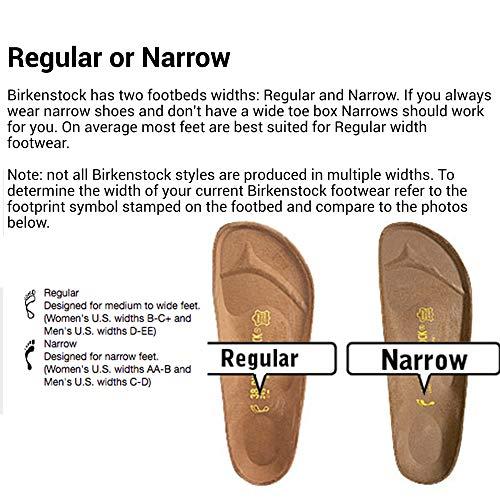 Birkenstock New Women's Arizona SF Slide Sandal Fuchsia Nubuck 38 N by Birkenstock (Image #2)