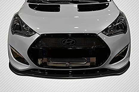 2012 - 2016 Hyundai Veloster Turbo carbono Creations GT Racing frontal Splitter - 1 pieza: Amazon.es: Coche y moto