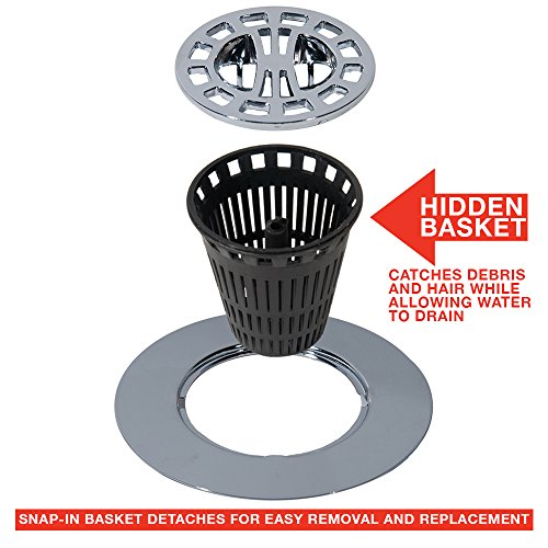 Danco Hair Catcher Strainer Snare For Stand Alone Shower Drain Cover