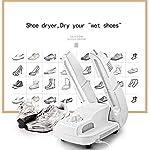 LKNJLL-Boot-Dryer-Shoe-Dryer-Guanto-Dryer-scalda-Scarponi-Portatile-cremagliera-Regolabile-e-Timer-Folding-Design-e-Asciugatura-Rapida-for-Le-Scarpe-Guanti-Cappelli-Calze-Scarponi-da-Sci