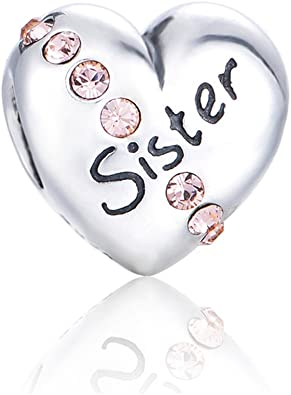 Brother Charm bead 925 Sterling Silver ideal present free gift bag