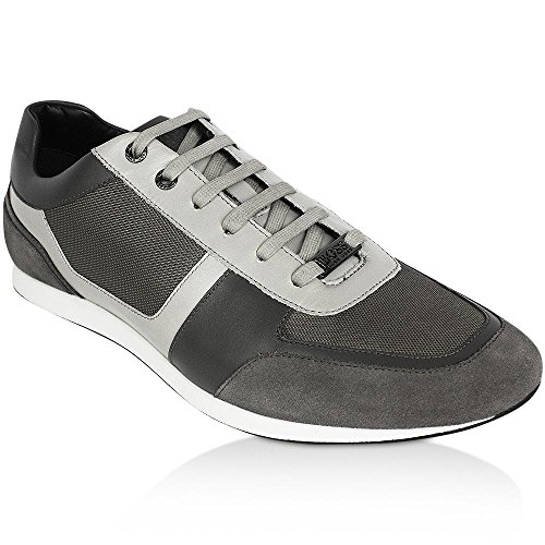 Hugo Boss, Sneaker uomo Grigio - Medium Grey