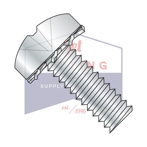 2-56X1/2 SEMS Screws | External Tooth Washers | Phillips | Pan Head | Steel | Zinc (QUANTITY: 10000) by Jet Fitting & Supply Corp