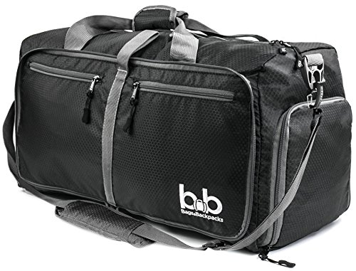 Bb Bag (Extra Large Duffle Bag with Pockets - Waterproof Duffel Bag for Women and Men)