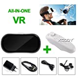 FidgetFidget HMD-V05 All-in-one 360° Virtual Reality Headset Lunettes 3D VR 16GB 1080p HDMI