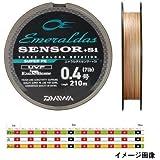 ダイワ(Daiwa) PEライン エメラルダスセンサー +Si 210m 0.6号 8lb マルチカラー
