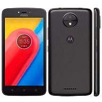"Motorola XT1750 Smartphone Moto C 3G, 5"", 8GB, Cámara 5Mp, Android 7.0 Nougat, Color Negro"