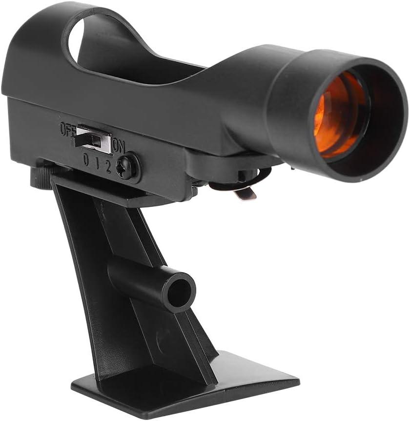 Topiky Visor de Punto Rojo Star Finder Scope para Celestron 80EQ 80 / 90DX SE/Meade Infinity/Polaris Astro Telescope